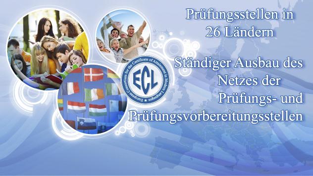 Die ECL Sprachprüfungen können in 26 europäischen Ländern sowie in Argentinien und in den USA abgelegt werden.